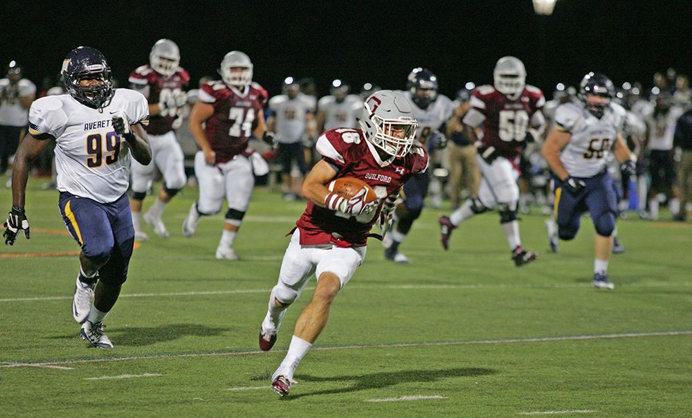 Guilford rolls to Homecoming win over Averett - Carolina ...