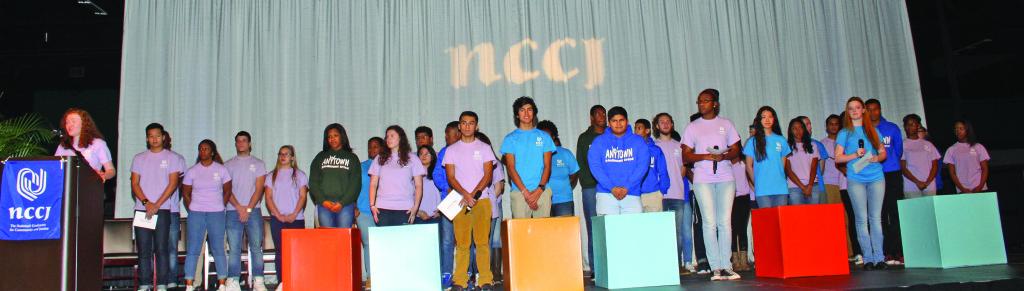 Anytown Student Ambassadors. Photo by Charles Edgerton/Carolina Peacemaker