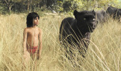 "Neel Sethi (left) stars in ""The Jungle Book."" The movie features the voice talents of Giancarlo Esposito, Idris Elba, Bill Kingsley, Bill Murray, Scarlett Johansson and Lupita Nyong'o. Photo courtesy of Disney Films"