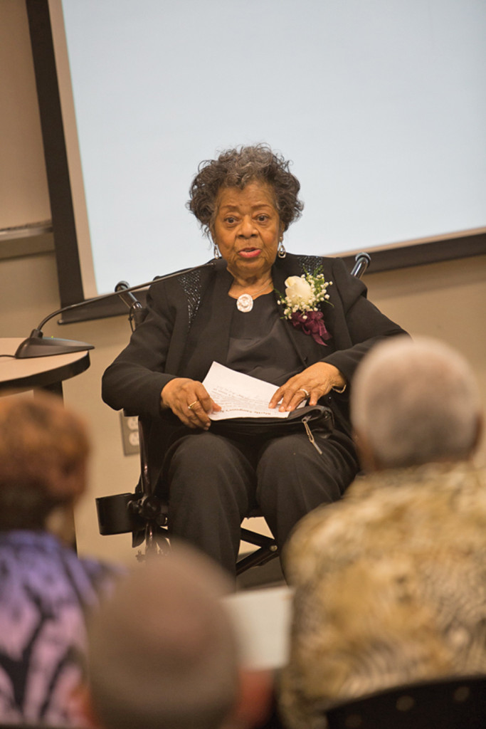 Dr. Myrtle Boykin Sampson, NCCU Class of 1951. Photo courtesy NCCU